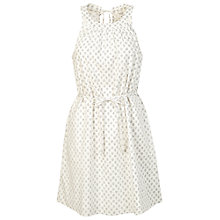 Buy Fat Face Felicity Batik Ditsy Dress, Ivory Online at johnlewis.com