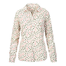 Buy Fat Face Classic Fit Petal Shirt, Ivory Online at johnlewis.com
