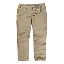 Buy Fat Face Linen Cropped Trousers Online at johnlewis.com