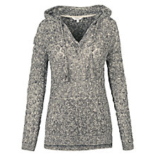 Buy Fat Face Locksheath Pointelle Hoodie, Indigo Online at johnlewis.com