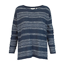 Buy Fat Face Polzeath Stripe Jumper Online at johnlewis.com