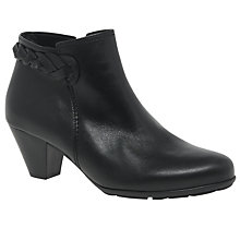 Buy Gabor Portobello Block Heeled Ankle Boots Online at johnlewis.com