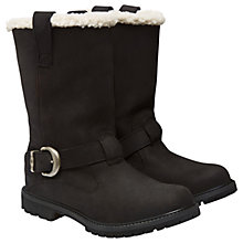 Buy Timberland Nellie Pull On Boots, Black Online at johnlewis.com