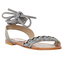 Buy Steve Madden Shaney Tie Up Sandals Online at johnlewis.com