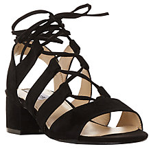 Buy Steve Madden Kittyy Tie Up Sandals Online at johnlewis.com
