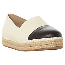 Buy Steve Madden Prioriti Contrast Toe Espadrilles Online at johnlewis.com