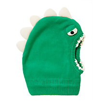 Buy John Lewis Children's Dinosaur Balaclava, Green Online at johnlewis.com