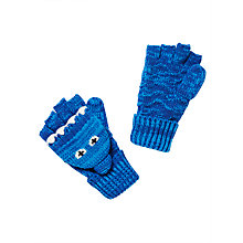 Buy John Lewis Children's Shark Flip Gloves, Blue Online at johnlewis.com
