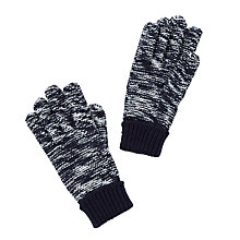 Buy John Lewis Children's Ombre Gloves, Navy Online at johnlewis.com