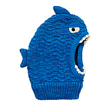 Buy John Lewis Children's Shark Balaclava, Blue Online at johnlewis.com