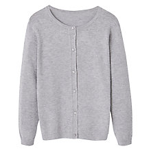 Buy Mango Kids Girls Plumeti Cardigan Online at johnlewis.com