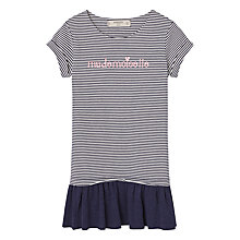 Buy Mango Kids Girls Contrast Bodice Dress Online at johnlewis.com