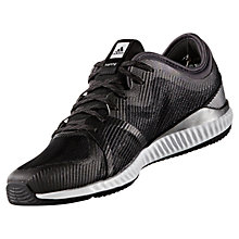 Buy Adidas Edge Bounce Women's Cross Trainers, Black/Silver Online at johnlewis.com