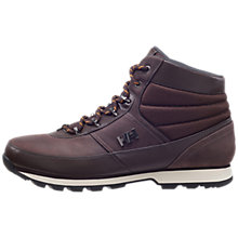 Buy Helly Hansen Woodlands Waterproof Leather Men's Boots, Brown Online at johnlewis.com