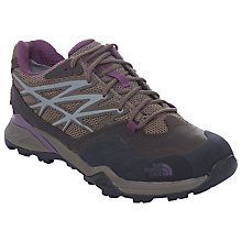 Buy The North Face Hedgehog Hike GTX Women's Hiking Boots, Brown/Purple Online at johnlewis.com