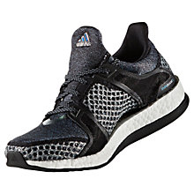 Buy Adidas Pure Boost X Women's Cross Trainers, Black Online at johnlewis.com