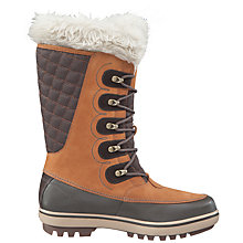 Buy Helly Hansen Garibaldi Waterproof Leather Women's Boots, Brown Online at johnlewis.com