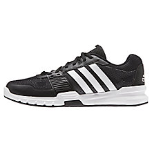 Buy Adidas Essential Star 2.0 Men's Cross Trainers, Black/White Online at johnlewis.com