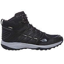 Buy The North Face Men's Litewave Explore Mid GTX Hiking Boots, Black Online at johnlewis.com