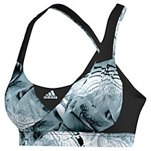 Buy Adidas Running Supernova Sports Bra, Black Online at johnlewis.com