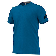 Buy Adidas Training Climachill T-Shirt, Blue Online at johnlewis.com