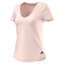 Buy Adidas Cross Training V-Neck T-Shirt Online at johnlewis.com