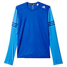 Buy Adidas Response Long Sleeve Running Top Online at johnlewis.com