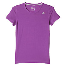 Buy Adidas AIS Prime Cross Training T-Shirt, Purple Online at johnlewis.com