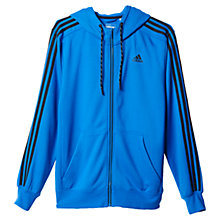 Buy Adidas Essentials Training Hoodie, Blue Online at johnlewis.com