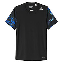 Buy Adidas Techfit Base Training T-Shirt, Black Online at johnlewis.com