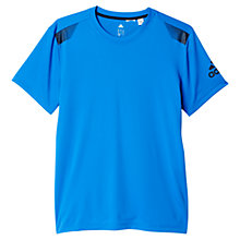 Buy Adidas Lifter Training T-Shirt, Blue Online at johnlewis.com