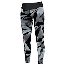 Buy Adidas Training Allover Graphic Long Tights, Black/White Online at johnlewis.com