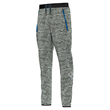 Buy Adidas Boys' Messi Training Trousers, Black/Blue Online at johnlewis.com