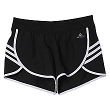 Buy Adidas Ultimate 3-Stripes Training Shorts, Black/White Online at johnlewis.com