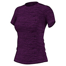Buy Adidas Performance Training T-Shirt, Purple Online at johnlewis.com