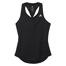 Buy Adidas Sequencials Climilite Running Tank Top, Black Online at johnlewis.com