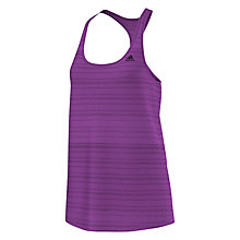 Buy Adidas Lightweight Tank Top, Purple Online at johnlewis.com