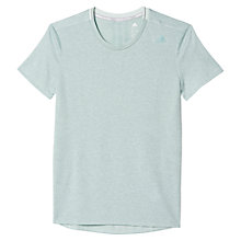 Buy Adidas Supernova Running T-Shirt, Green Online at johnlewis.com