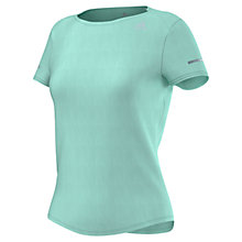 Buy Adidas Short Sleeve Running T-Shirt Online at johnlewis.com