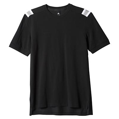 Image of Adidas Athletics Hethered T-Shirt, Black