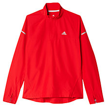 Buy Adidas Climaproof Half Zip Running Anorak Online at johnlewis.com