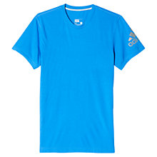 Buy Adidas Prime Drydye Crew Neck T-Shirt, Blue Online at johnlewis.com