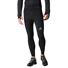Buy Adidas Sequencials Climacool Running Tights, Black Online at johnlewis.com