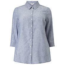Buy Studio 8 Lacey Shirt, Blue Online at johnlewis.com