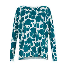 Buy Hobbs Twitchill Sweater, Emerald Online at johnlewis.com