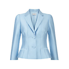 Buy Hobbs Evie Jacket, Crystal Blue Online at johnlewis.com