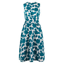 Buy Hobbs Multi Twitchill Dress, Emerald Online at johnlewis.com