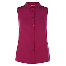 Buy Hobbs Evie Blouse, Orchid Pink Online at johnlewis.com