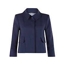Buy Hobbs Venice Jacket, Azure Blue Online at johnlewis.com
