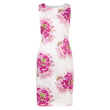 Buy Hobbs Hydrangea Shift Dress, Pink Multi Online at johnlewis.com